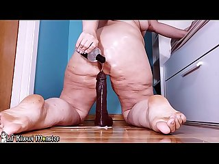 Oiling up my HUGE ASS and riding my HUGE COCK while Farting *Short Version*
